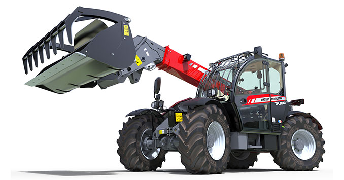 MF TH.8043 telehandler launched - a new dimension in capacity and performance