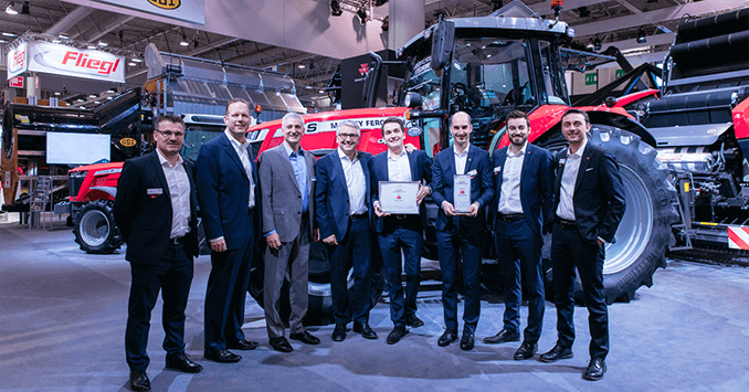 Massey Ferguson MF 7719 S awarded Machine of the Year at SIMA 2019
