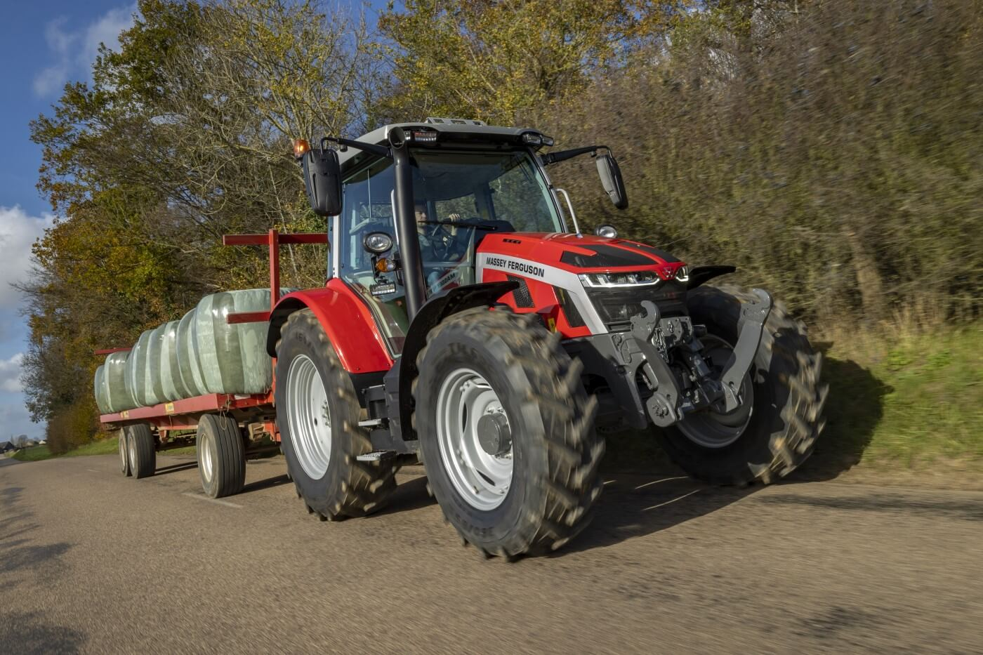 Efficient drivelines deliver higher productivity