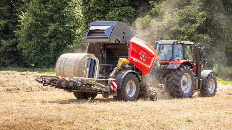 MF Round Balers | Fixed Chamber Protec
