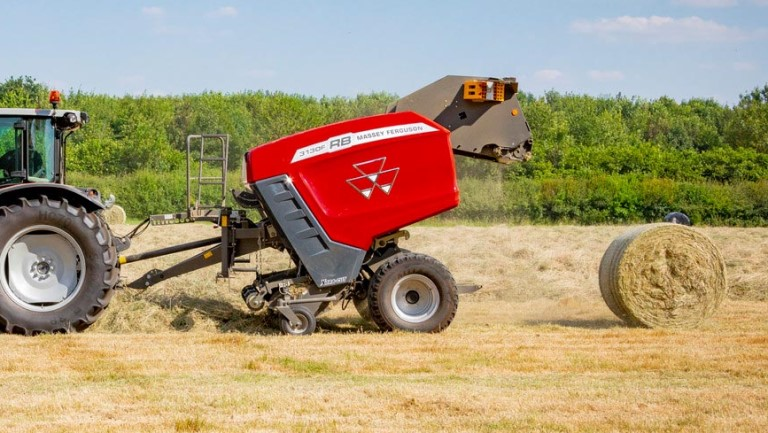 MF Round Balers | Fixed chamber