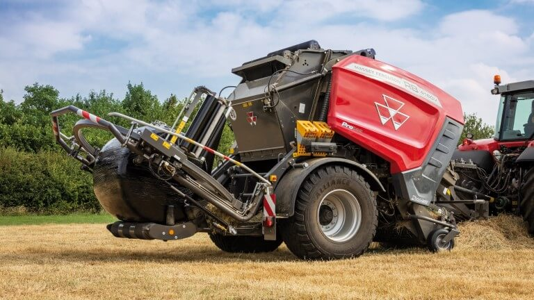 MF Round Balers | Variable Chamber Protec