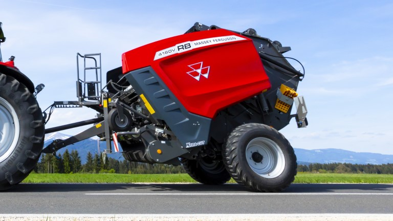 MF Round Balers | Variable chamber
