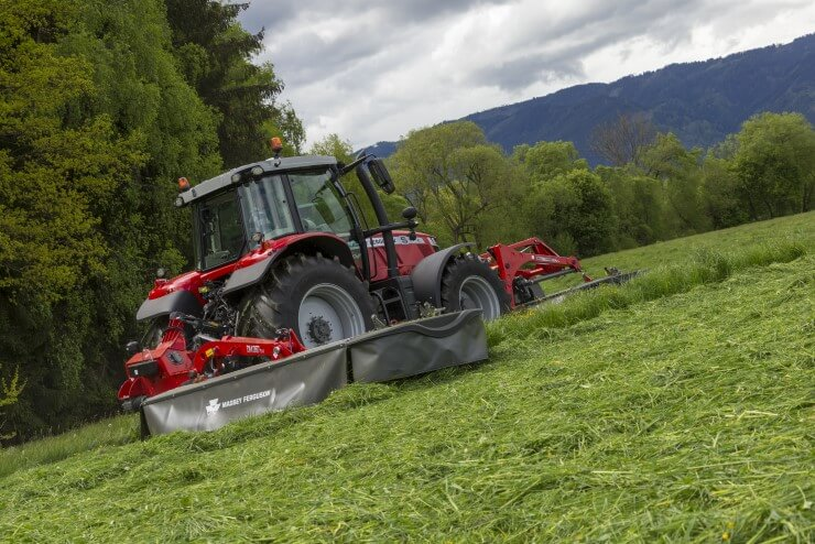 MF Drum and disc mowers