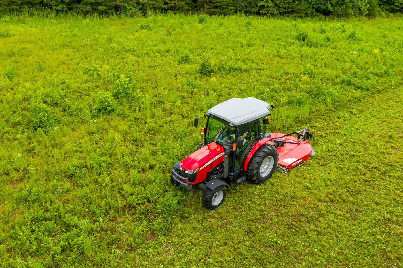 MF 2800 M | Woods Massey Ferguson Red Implement Instant Rebate with MF Tractor Purchase