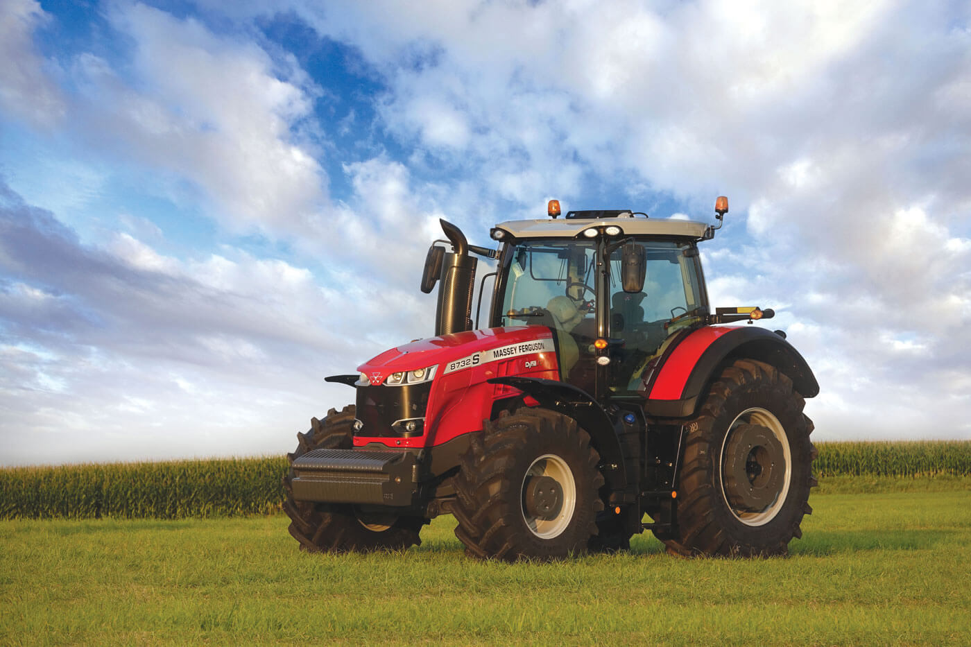 MF 8700 S Series HHP Tractors | 270-400 HP