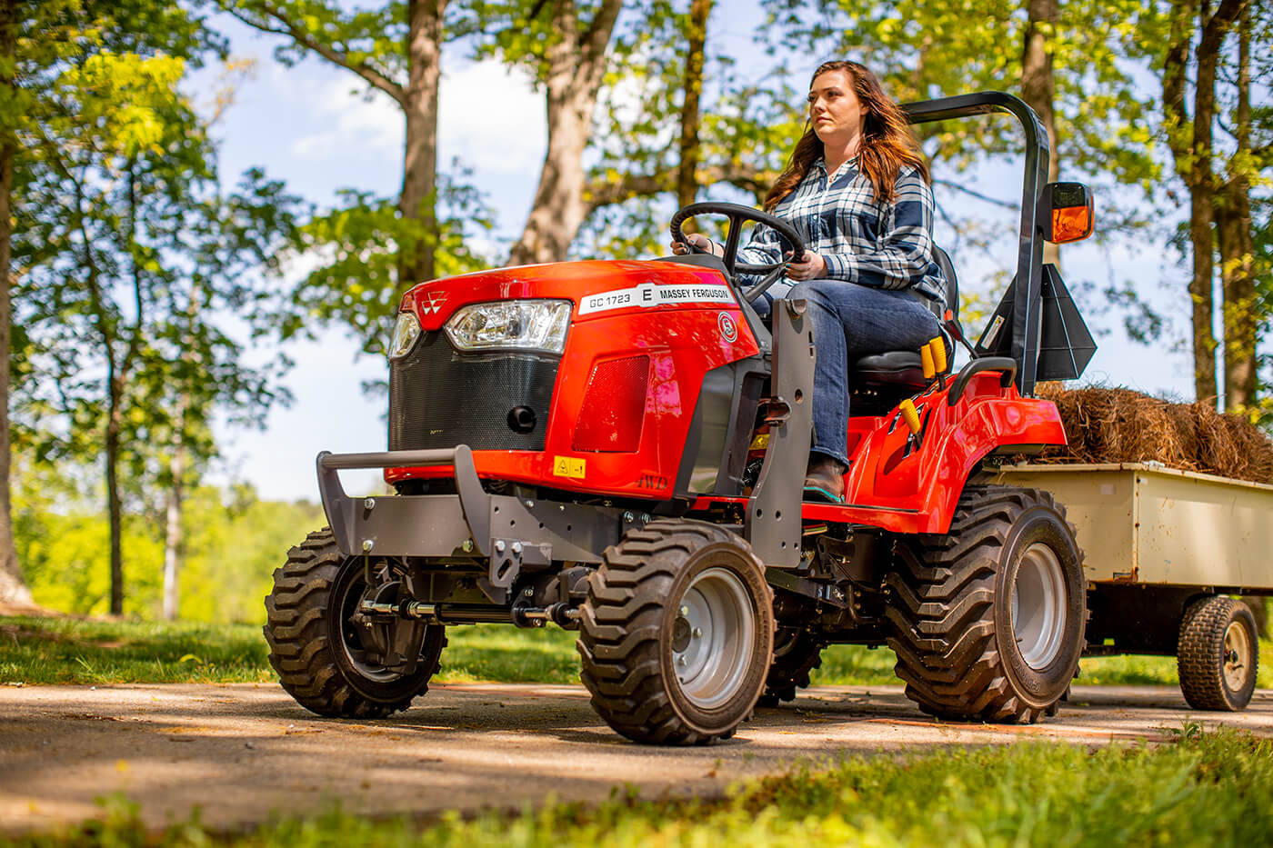 MF GC1700 Series Sub-Compact Tractors | 22.5-24 HP