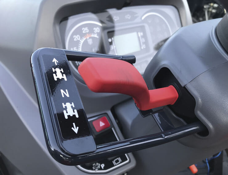 Shuttle-Shift Lever